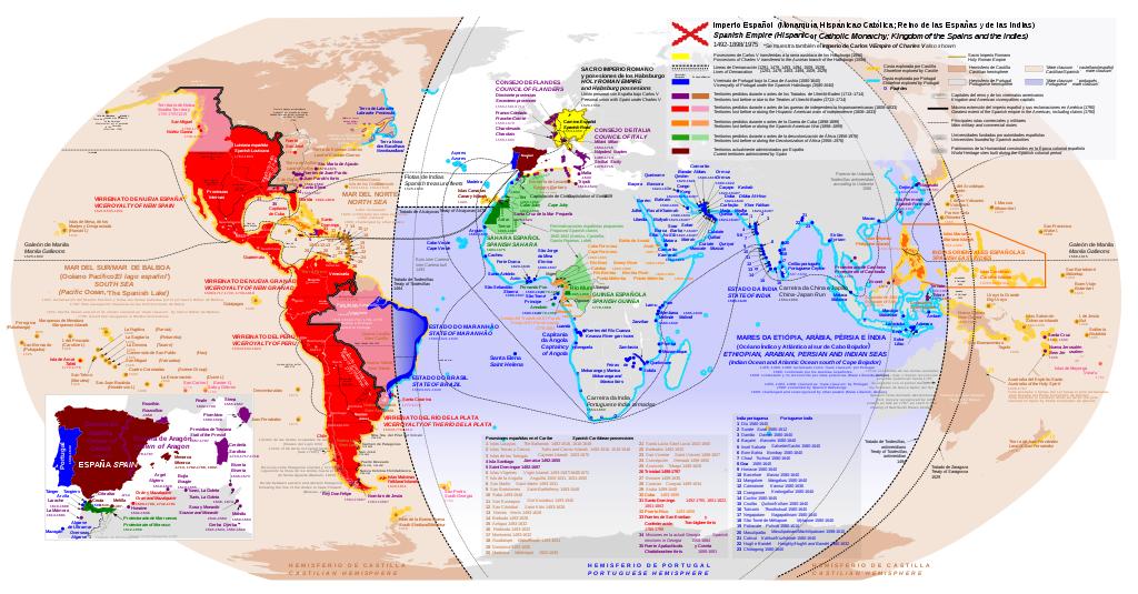 Imperio hispánico no s. XVI